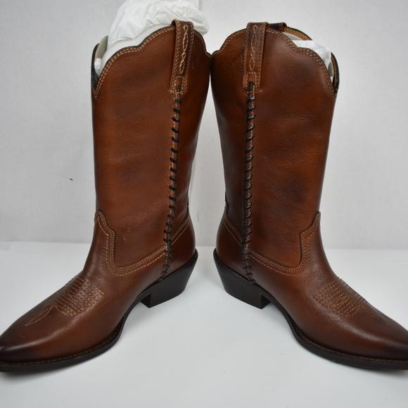 c2446ceec18 Patricia Nash Bergamo Cowgirl Boots, Whiskey 7 Boutique